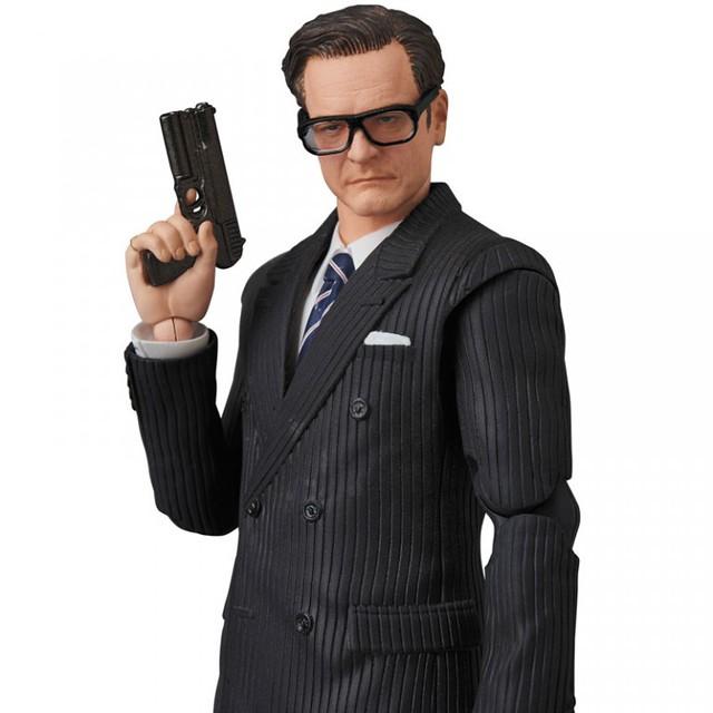 """禮儀,成就不凡的人!MAFEX 《金牌特務》教父「哈利·加拉哈德·哈特」!マフェックス No.73 MAFEX Harry """"Galahad"""" Hart"""
