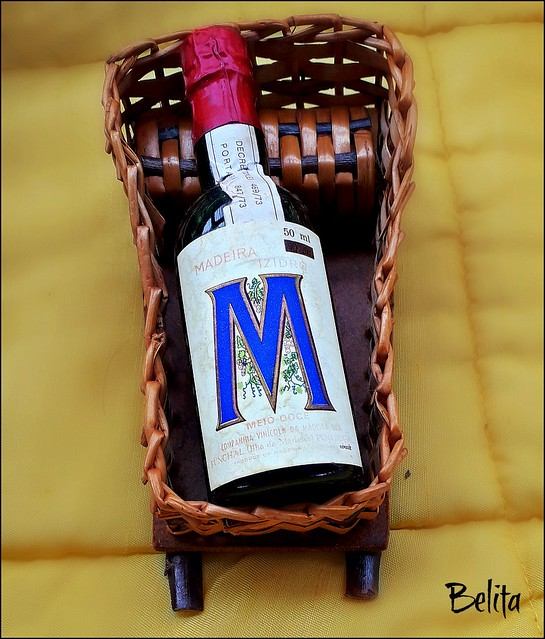Madeira wine Bottle