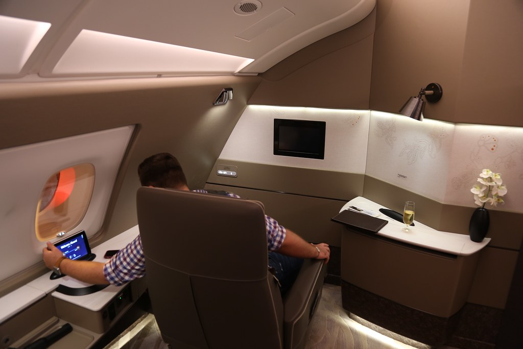 Singapore Airlines First Class Suites 41