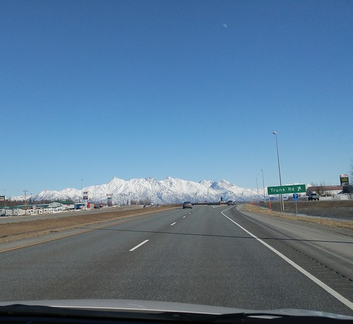 Driving North of Anchorage