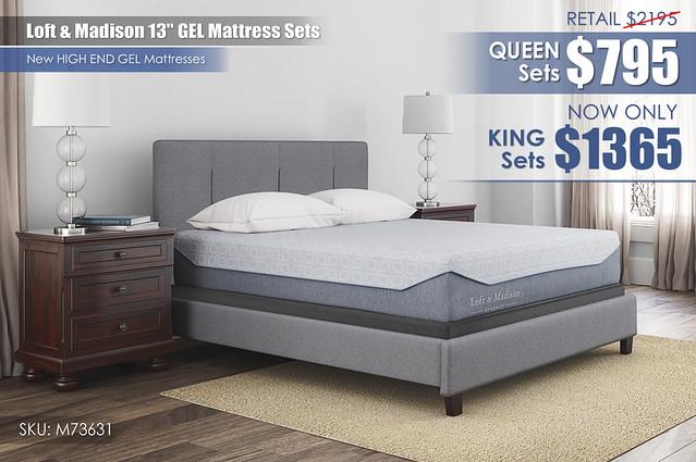 Loft & Madison GEL Mattress Update_M73631_LimitedClearance2