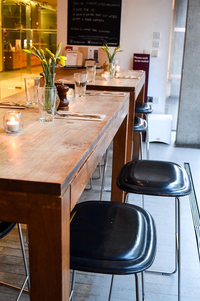 Bar Seating at Table Cafe, Southbank #london
