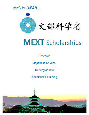 MONBUKAGAKUSHO JAPAN GOVERNMENT SCHOLARSHIP (MEXT)