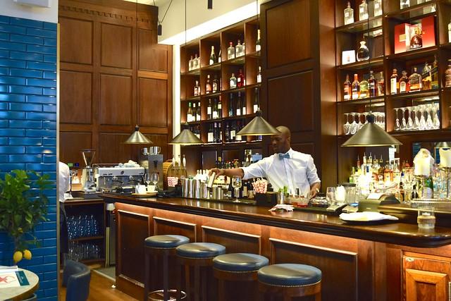 Bar at Fancy Crab, Marylebone