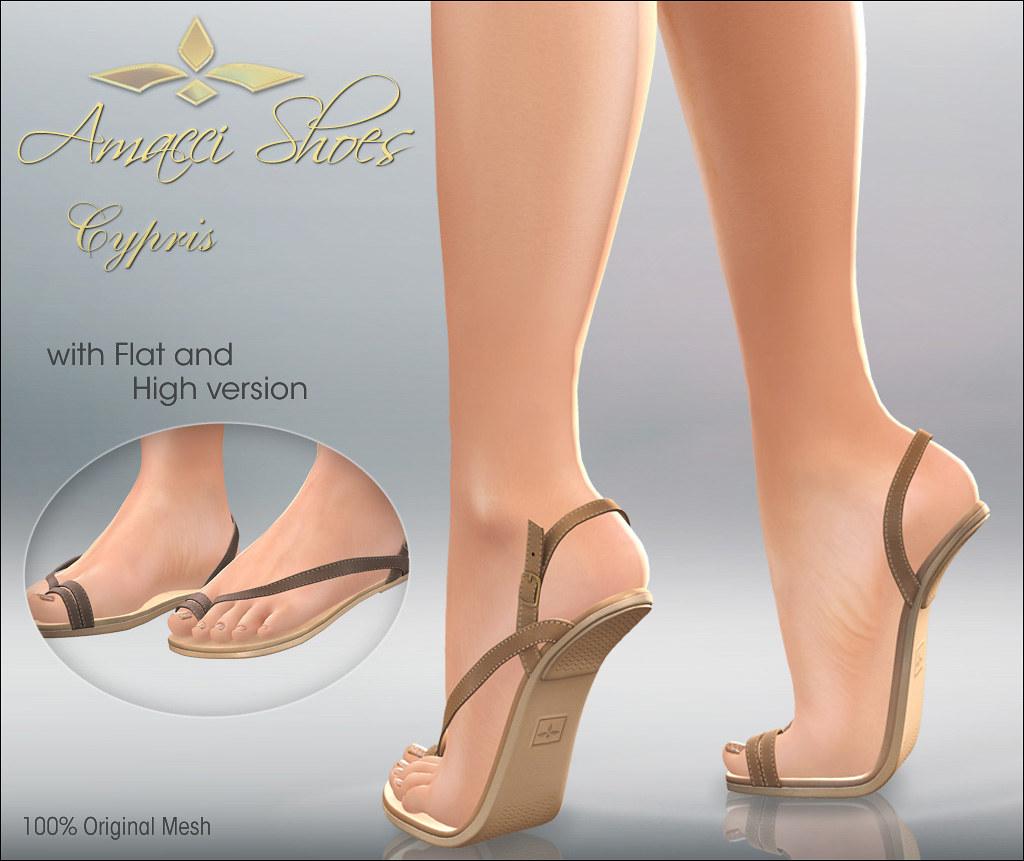 Amacci Shoes - Cypris - TeleportHub.com Live!