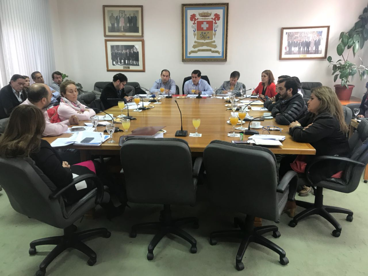 LINARES; Concejo Municipal Aprueba Proyecto de Luminarias Led para la Comuna