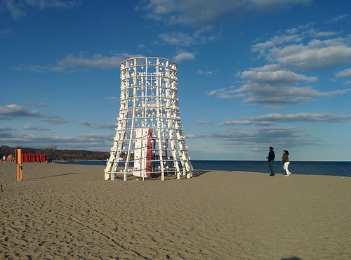 Wind Station (1) #toronto #winterstations #beaches #woodbinebeach #makesomenoise #publicart #latergram