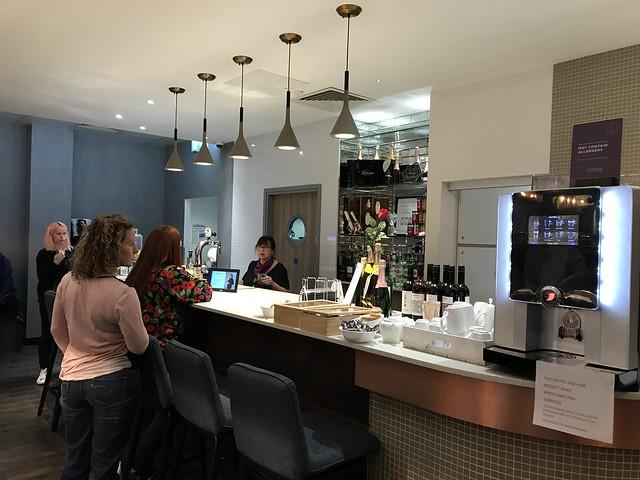 airport club lounge,  bar