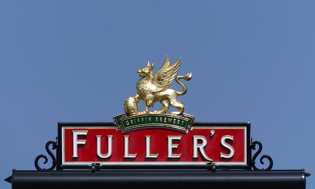 Fine day for a pint of Fuller's
