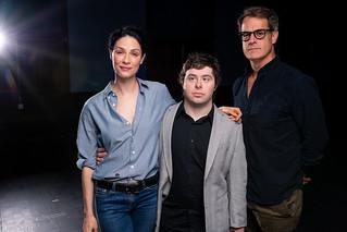 Joanne Kelly, Nolan James Tierce, and Josh Stamberg
