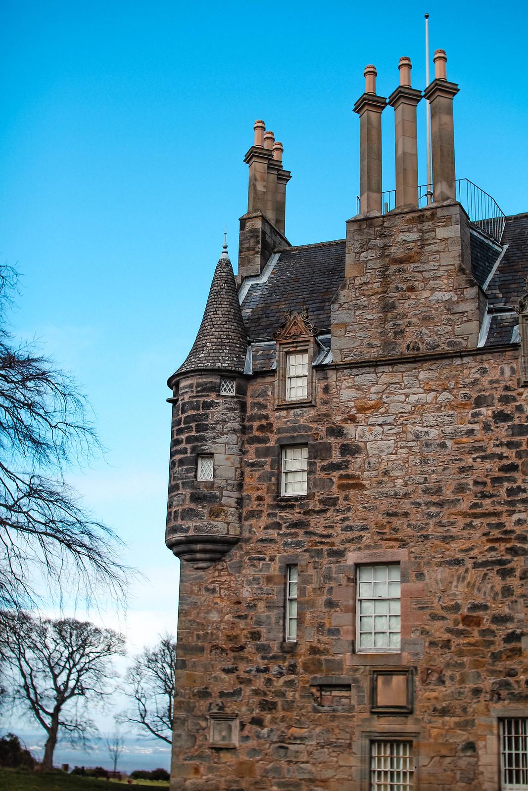 Scottish Lauriston Castle Edinburgh travel lifestyle blogger The Little Things 9