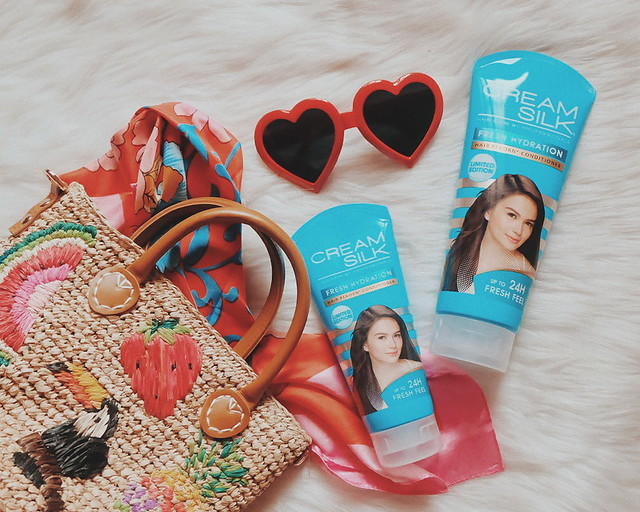 Summer Ready with Cream Silk Fresh Hydration Conditioner [Review]