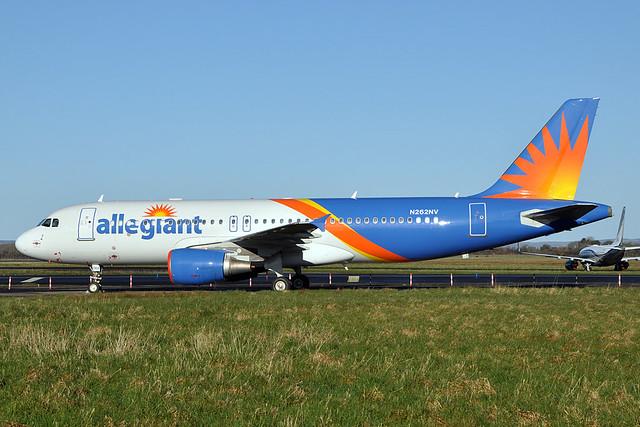N262NV  A320-214  Allegiant Air