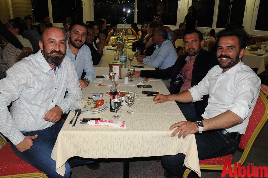 Mehmet Kutu, Ömer Pişkin, Hasan Şen, Alirıza Yıldız