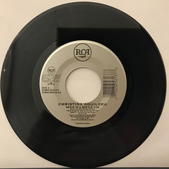 CHRISTINA AGUILERA:GENIE IN A BOTTLE(RECORD SIDE-A)