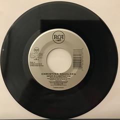 CHRISTINA AGUILERA:GENIE IN A BOTTLE(RECORD SIDE-A)