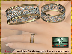 Bliensen - Leannan - Wedding Bands - mixed - F+M