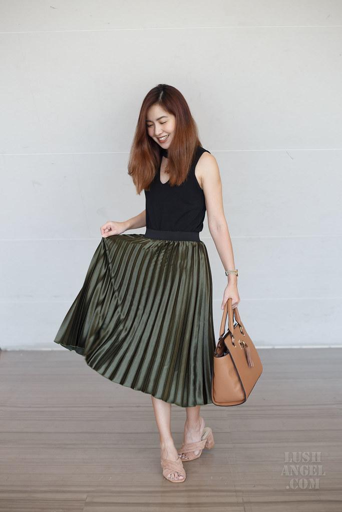 metallic-skirt-styling