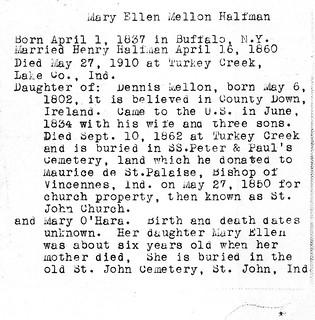 2018-3-21. Mary Ellen (Mellon) Halfman 2