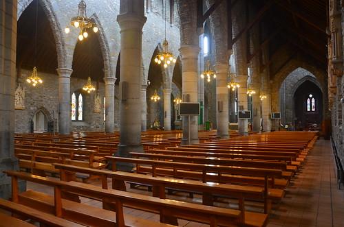 Der Seitenflügel von der Kathedrale in Killarney