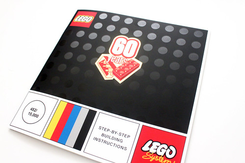 LEGO Classic 60th Anniversary Collectible Booklet