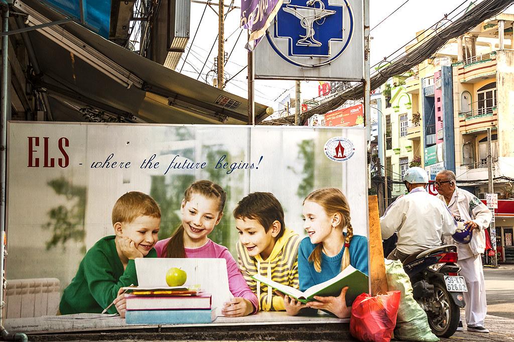where the future begins--Saigon
