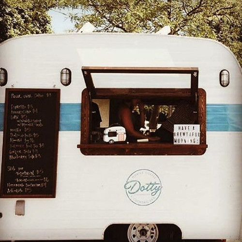 Dotty Mobile Coffee Bar. From the Complete Guide to Kalamazoo Coffee Shops