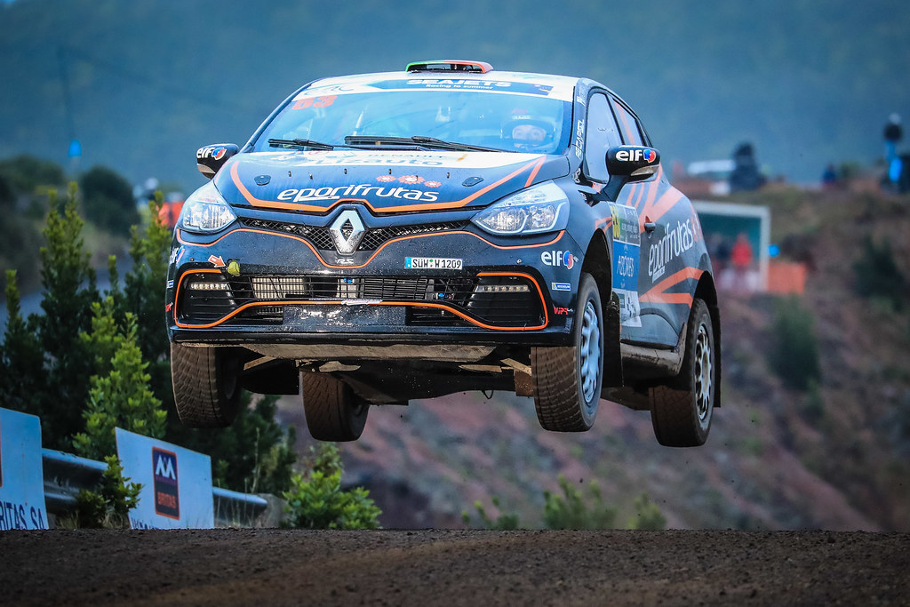 53 ANTUNES Gil (prt), CORREIRA Diogo (prt),  Renault Clio  RS R3T, action during the 2018 European Rally Championship ERC Azores rally,  from March 22 to 24, at Ponta Delgada Portugal - Photo Jorge Cunha / DPPI