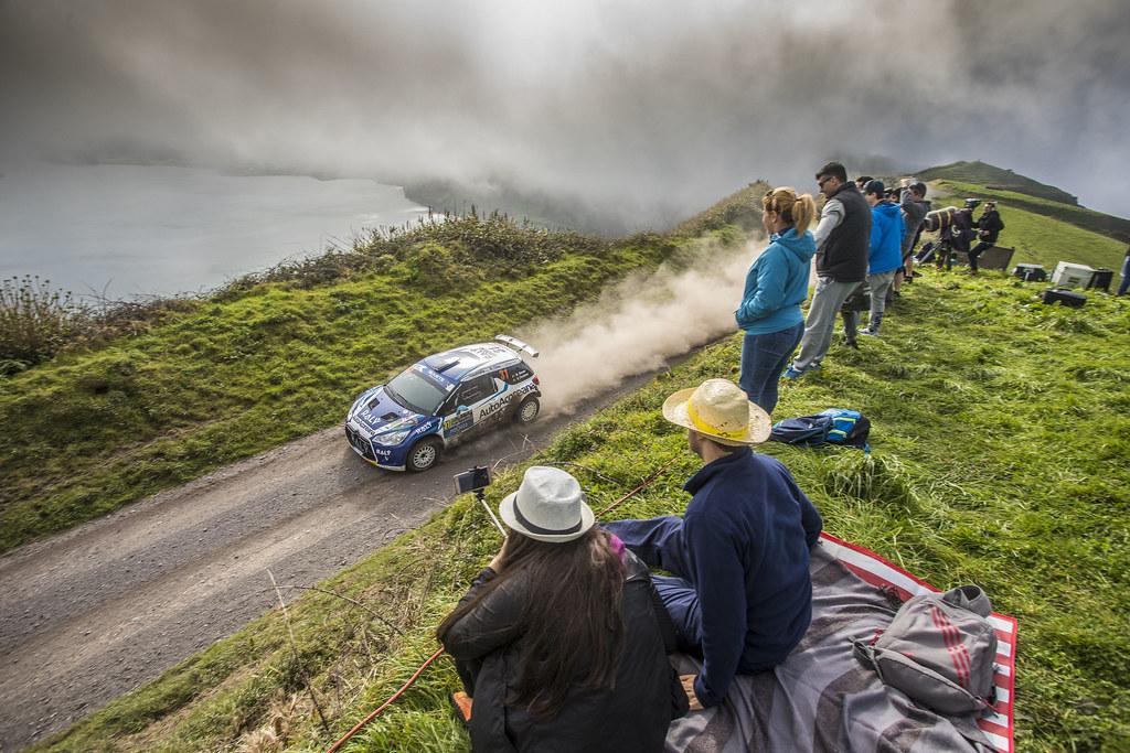 31 SOUSA Bernardo (prt), CARDOSO Walter (prt), RALY AUTOAÇOREANA RACING, CITROEN DS3 R5, action during the 2018 European Rally Championship ERC Azores rally,  from March 22 to 24, at Ponta Delgada Portugal - Photo Gregory Lenormand / DPPI