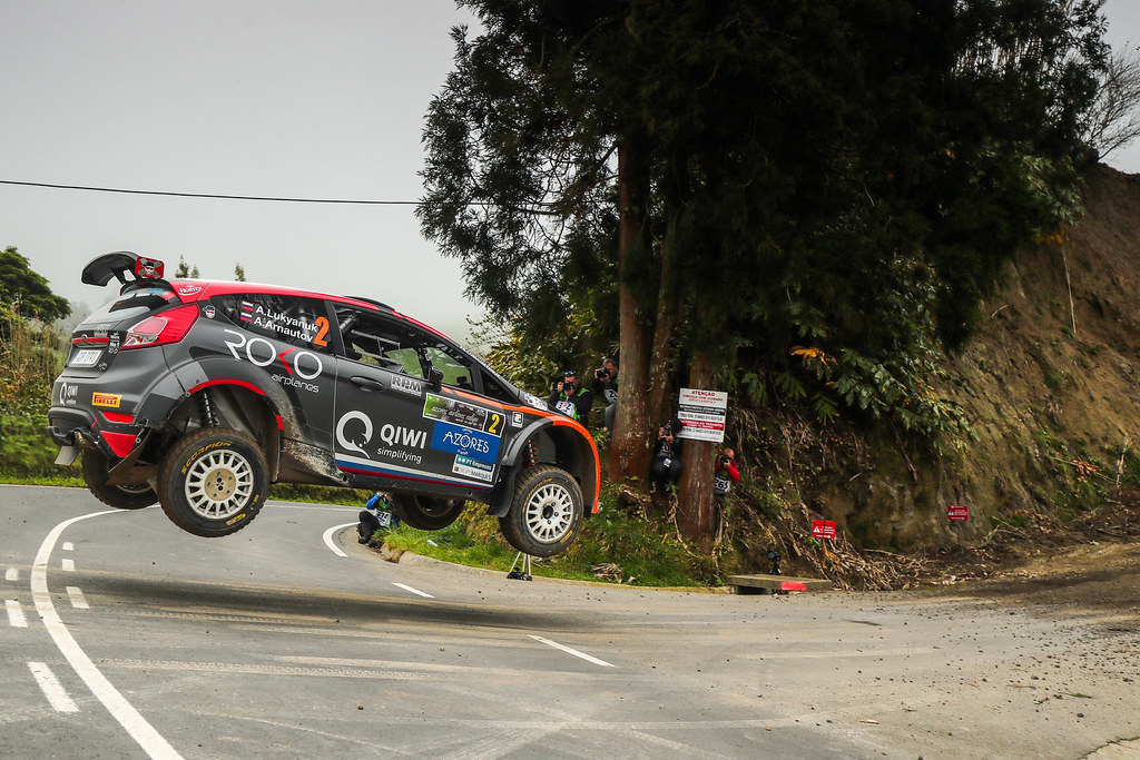 02 LUKYANUK Alexey (rus), ARNAUTOV Alexey (rus), RUSSIAN PERFORMANCE action during the 2018 European Rally Championship ERC Azores rally,  from March 22 to 24, at Ponta Delgada Portugal - Photo DPPI
