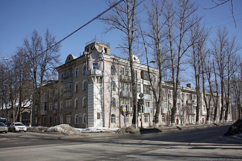Королёв, улица Циолковского.