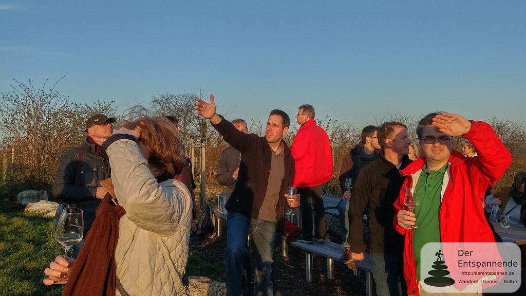 Weinwanderung mit Stephan Glöckner, Vinocamp Rheinhessen 2018
