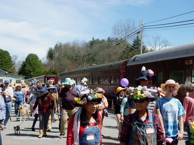 Dillsboro Easter Parade at From My Carolina Home