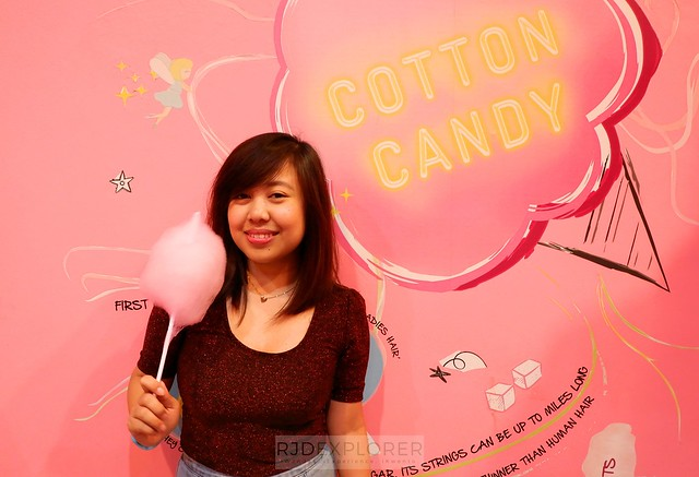 dessert museum cotton candy forest