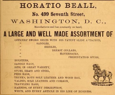 Horatio Beall ad