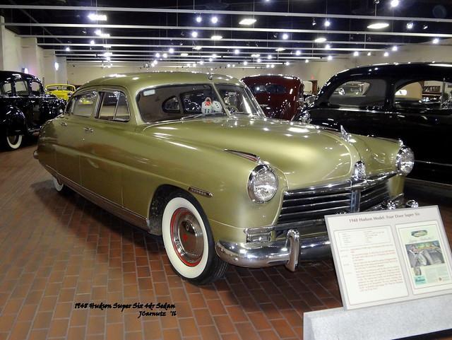 1948 Hudson Super Six 4dr Sedan