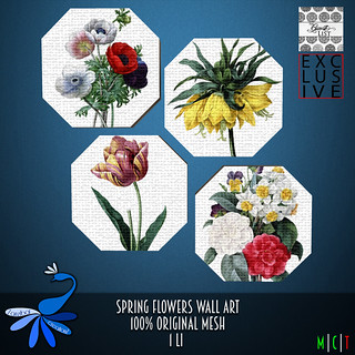 ZcZ SPring Flowers Wall Art