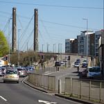 George Street Bridge, Newport 19 April 2018