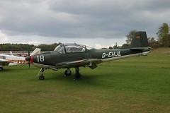 D-EHJL Focke-Wulf FWP-149D (045) Popham 030510