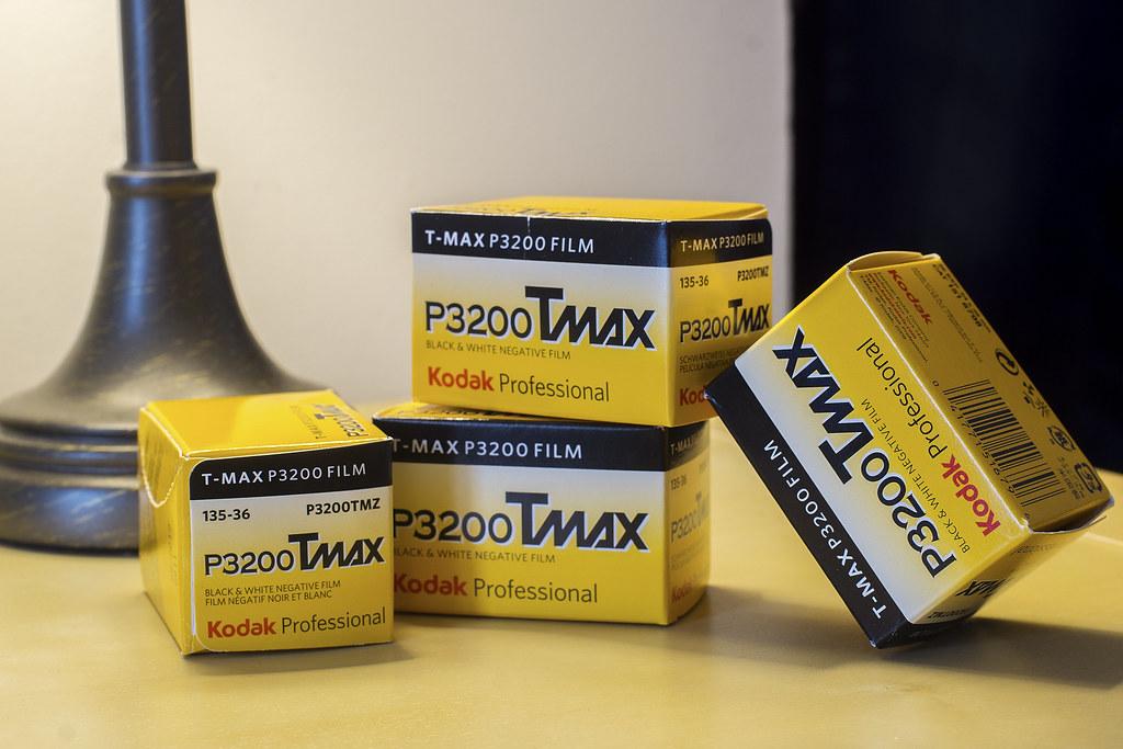 CCR:FRB - Review 30 - Kodak TMax P3200