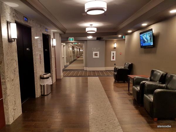Chateau Nova Yellowknife Hotel elevators