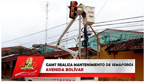gamt-realiza-mantenimiento-de-semaforos-avenida-bolivar