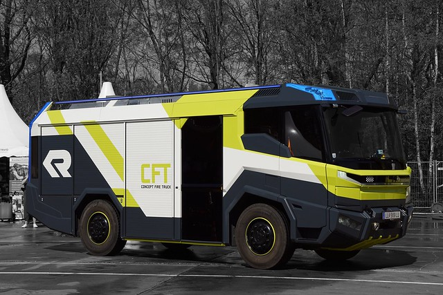 Rosenbauer Concept Fire Truck, Sony ILCA-68, Sony DT 18-135mm F3.5-5.6 SAM (SAL18135)