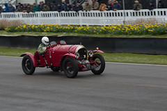 FR 5189 the first supercharged Bentley . Goodwood Members Meeting