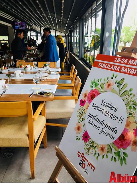 Çıtırım Kestel Şubesi Huzur Evi sakinleri kahvaltı -7