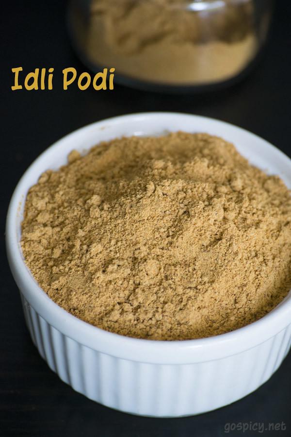 Idli Podi Recipe by GoSpicy.net