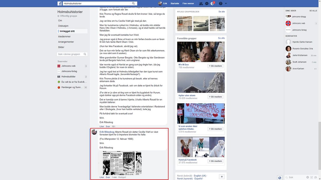 facebook 2 blomster italia
