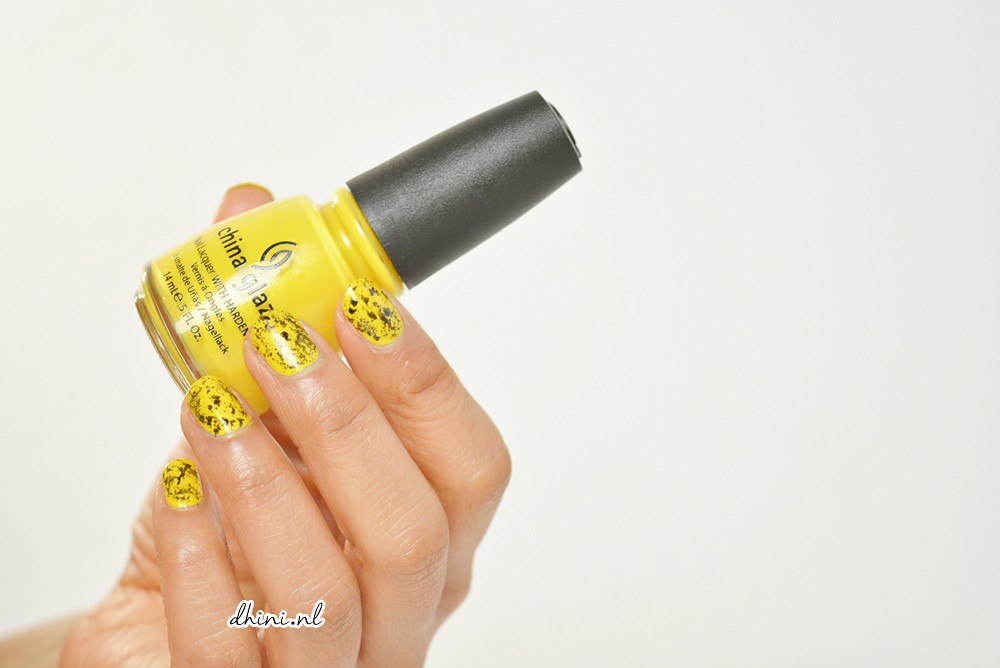 Mani monday : Yellow #1