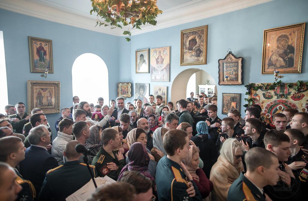 31 марта 2018, Литургия в Военно-медицинской Академии. Лазарева суббота / 31 March 2018, Liturgy in the S.M. Kirov Military Medical Academy. Lazarus Saturday