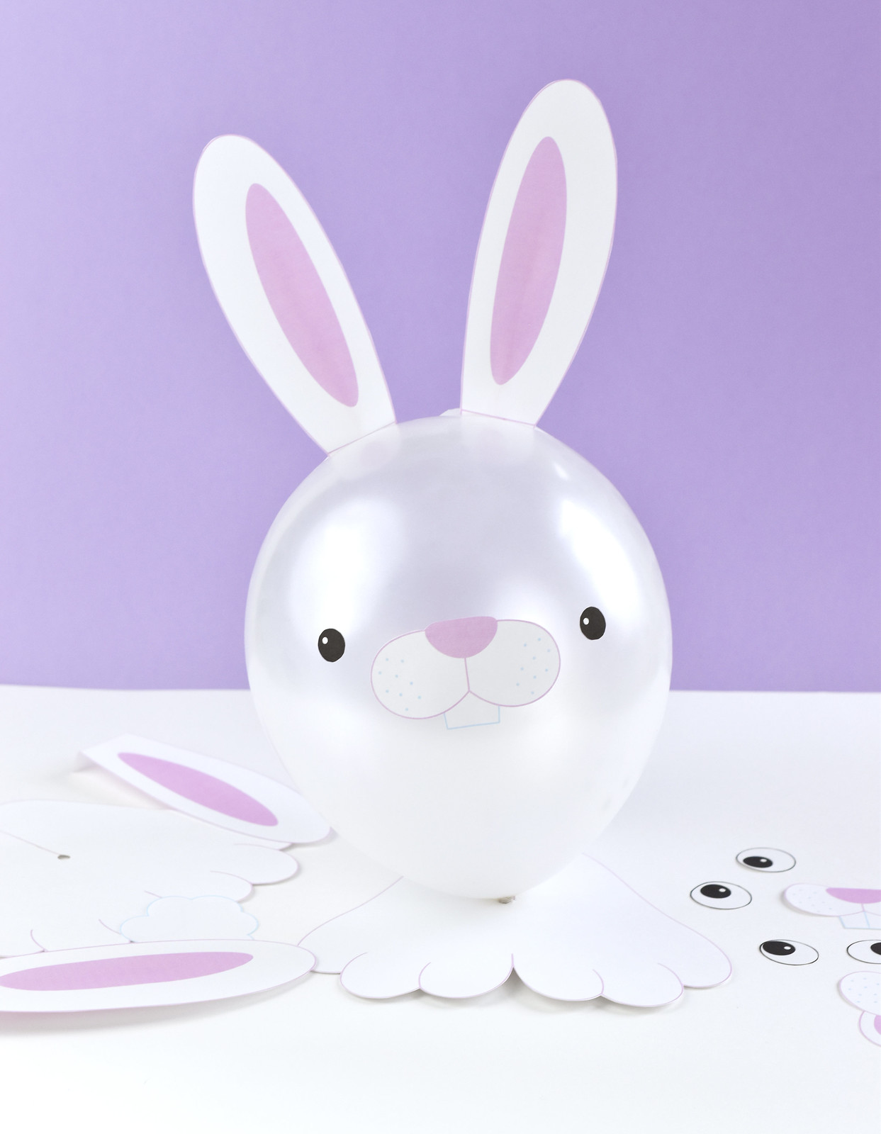 Bunny Balloon Printables